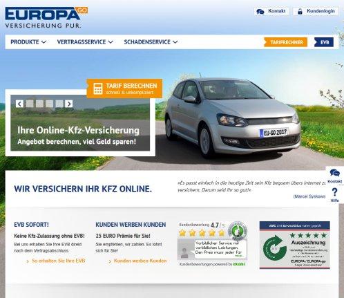 Kfz Versicherung Online Und Gunstig Kfz Koln