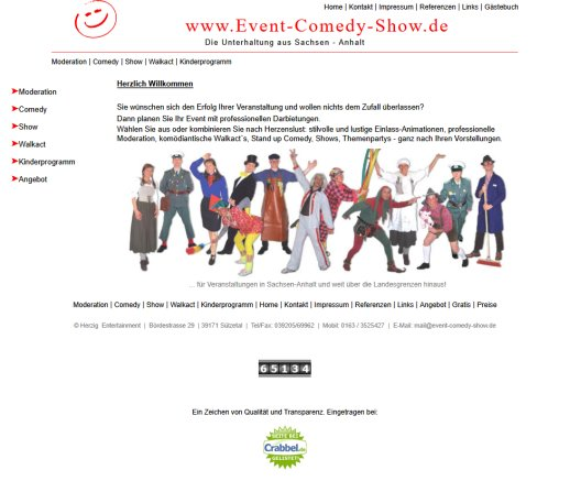 Moderation | Event | Comedy | Show | Walkact | Kinderprogramm  Öffnungszeit