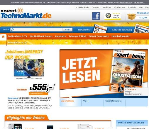 Expert Technomarkt Online Shop München Schwarz Alling