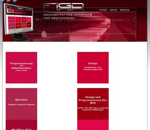 Figd fachinstitut f r informatik und weiterbildung berlin for Weiterbildung grafikdesign