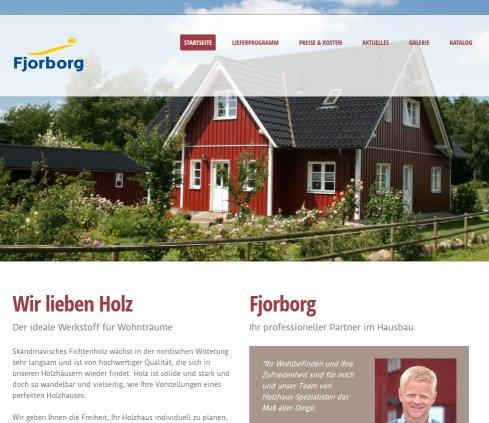 Fjorborg Holzhaus: Fjorborg Holzhaus Schwedenhaus › Holzhaus Flensburg