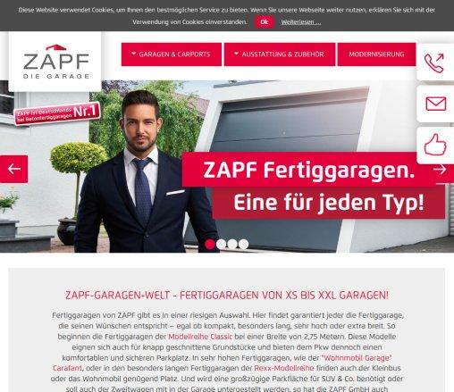 zapf garagen welt fertiggaragen zapf bayreuth. Black Bedroom Furniture Sets. Home Design Ideas
