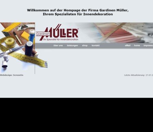 Gardinen Müller GbR › Gardinen Apolda