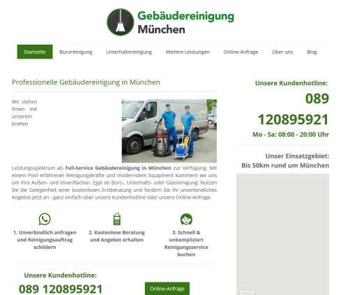 Gebäudereinigung München Reinigungsunternehmen München