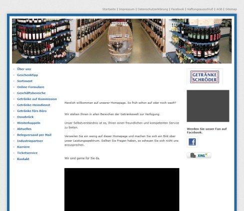 Getränke Schröder | Wir sind › Getränke Osnabrück