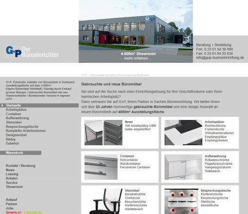 Bueromoebel GuP Dortmund. | G+P › Büromöbel Holzwickede