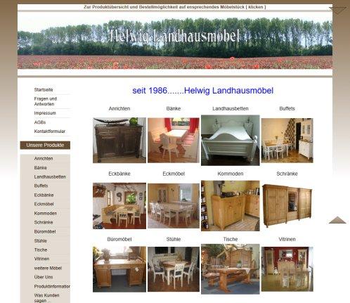 Helwig Landhausmöbel   Anfertigungen nach › Möbel Lorsch