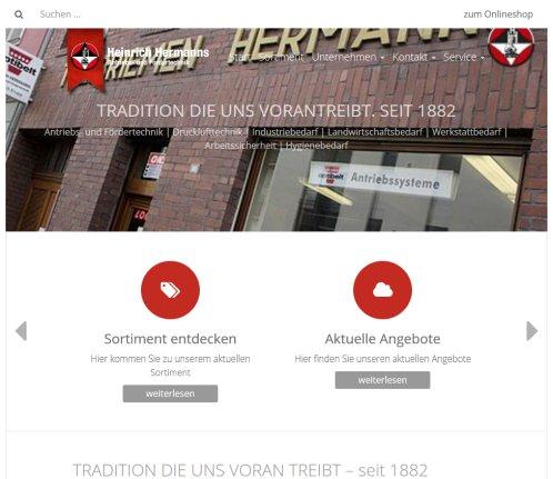 Heinrich Hermanns Antriebs Flachriemen Bonn