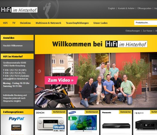 Hifi Im Hinterhof High Tv