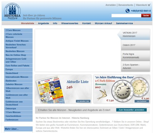 Münzen Von Historia Hamburg Münzhandelsgesellschaft Münzen Hamburg