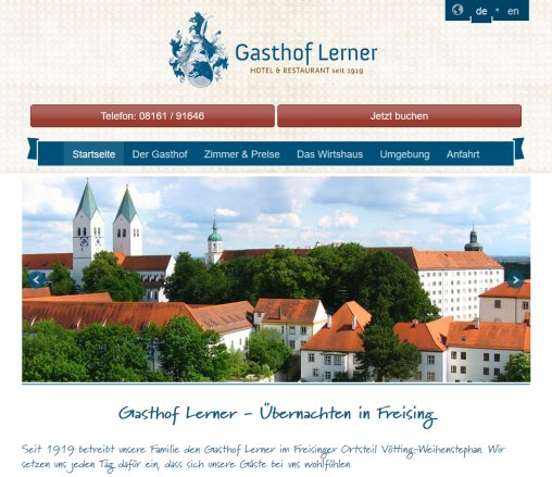 Hotel lerner in freising g nstig freising freising for Munchen gunstig ubernachten