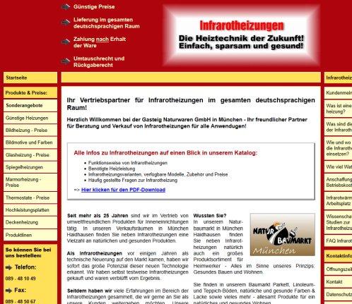 Infrarotheizung München infrarotheizung gesundbaumarkt münchen infrarotheizungen münchen