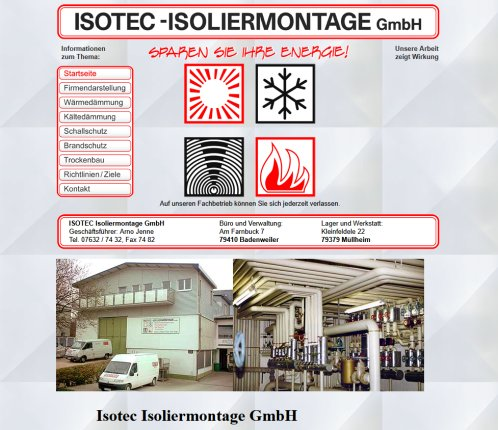Isotec Isoliermontage Gmbh Montage Isotec Badenweiler