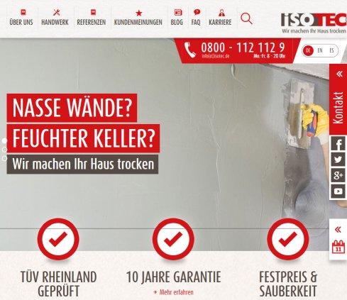 Isotec Erfahrungen isotec franchise systeme gmbh schimmel kürten