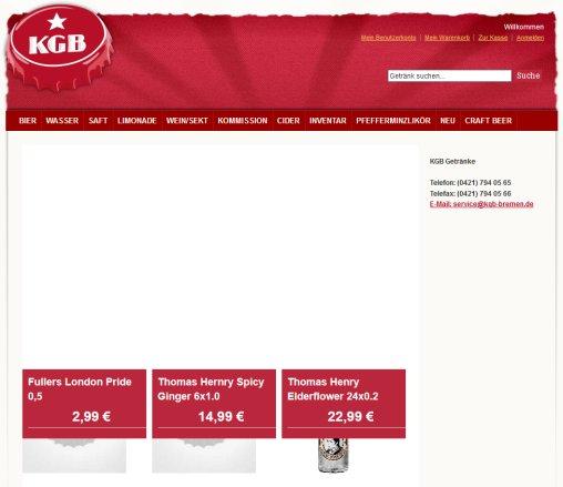 KGB Getränke Getränke Lieferservice Bremen › Kgb Bremen