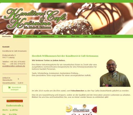 Konditorei Cafe Krusmann Hochzeitstorte Leipzig