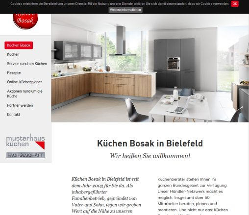 k chen bosak in bielefeld k chen bielefeld. Black Bedroom Furniture Sets. Home Design Ideas