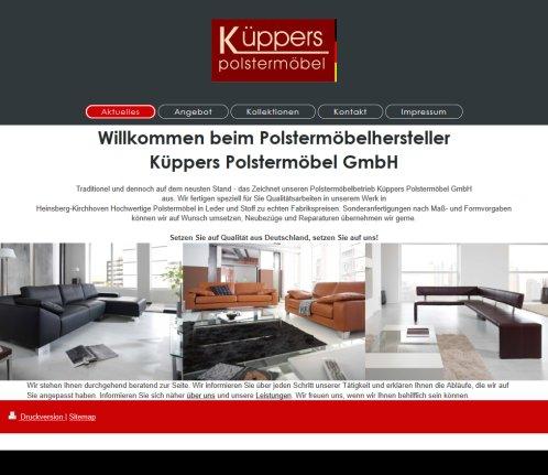 Küppers Polstermöbel GmbH › Polstermöbel Heinsberg