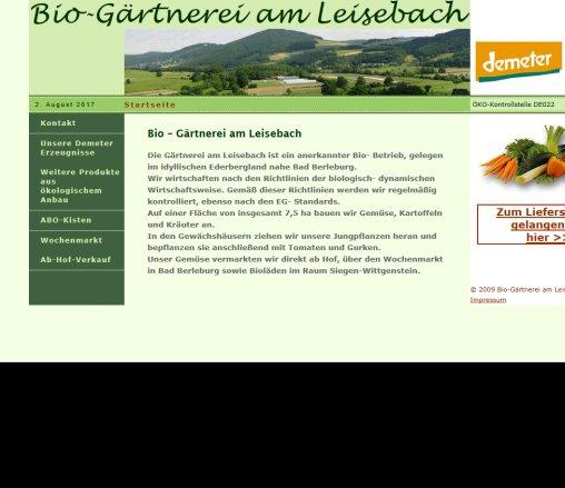a5291499cd Bio Gärtnerei