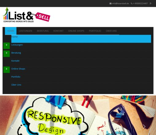 List and Sell - Webdesign Marketing Agentur Berlin Öffnungszeit