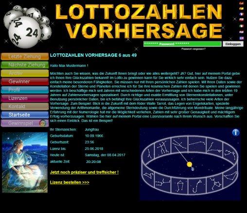 Voraussage Lottozahlen