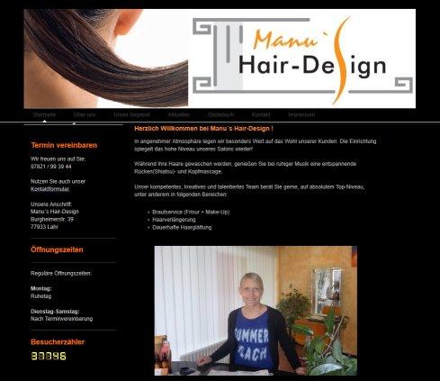 Manu S Hair Design Design Lahr Schwarzwald