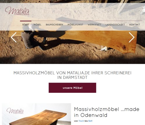 Matalia Schreinerei In Darmstadt Mobel Mobel Fischbachtal