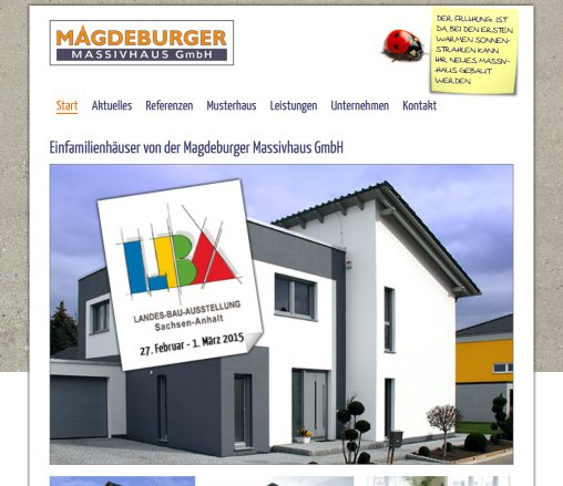Einfamilienhäuser/ Massivhäuser » Magdeburger Massivhaus › Magdeburg ...