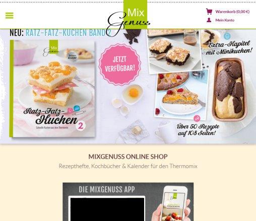 Mixgenuss Kochbucher Und Versand Kelheim