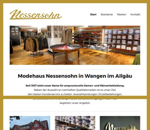 4d146af35f4086 Modehaus Nessensohn