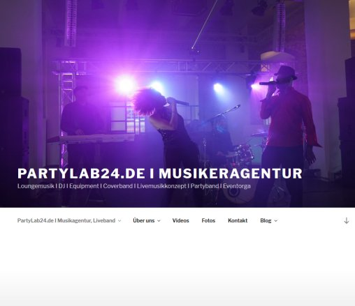 Coverband I Partyband I Musikeragentur I Corporate Musik Design Öffnungszeit