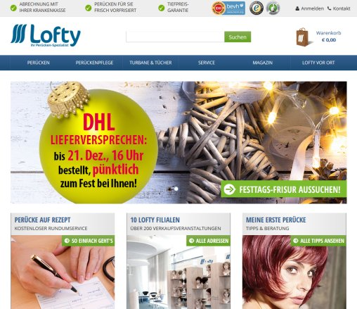 6634aa8af585c7 Lofty | Hochwertige Markenperücken und › Perücken Darmstadt