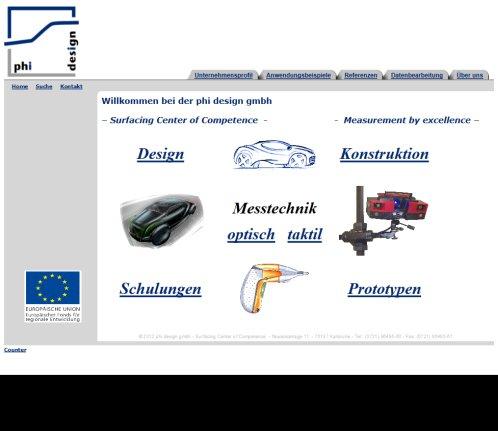 Phi Design Gmbh Design Karlsruhe