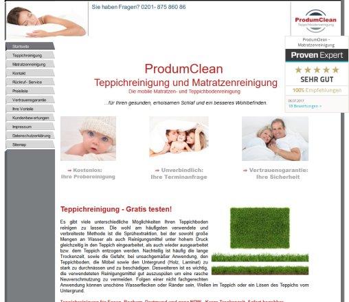 Produmclean Teppichreinigung In Essen Teppichreinigung Essen