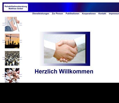 Rehabilitationsberatung Matthias Geibel Startseite › Willkommen Bornheim