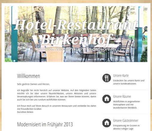Hotel Restaurant Birkenhof Restaurant Stolberg Rheinland