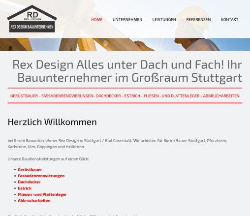 Bauunternehmen Stuttgart rex bauunternehmen in stuttgart baudienstleistungen stuttgart