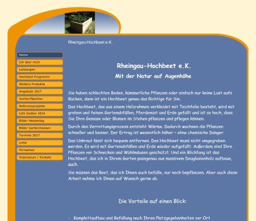 Rheingau Hochbeet hochbeet rheingau hochbeet e k hochbeet geisenheim