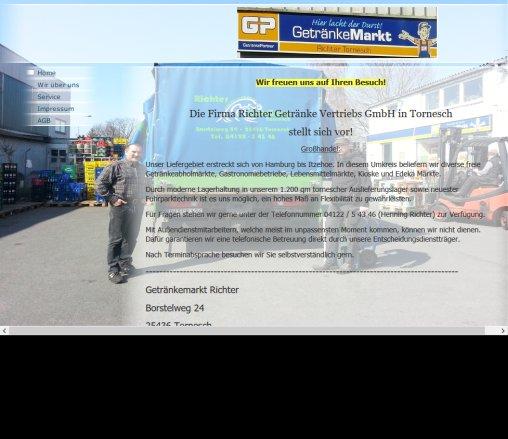 Home Richter Getränke Vertriebs GmbH › Tornesch Tornesch