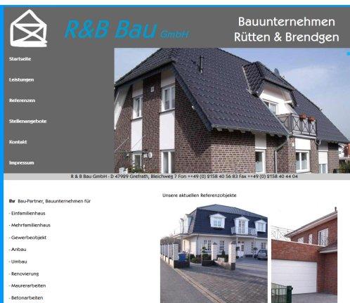 Bauunternehmen Mönchengladbach rb bau gmbh rütten brendgen gmbh grefrath