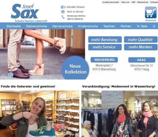 Schuh Josef Sax aus Haag › Schuhe Haag in Oberbayern