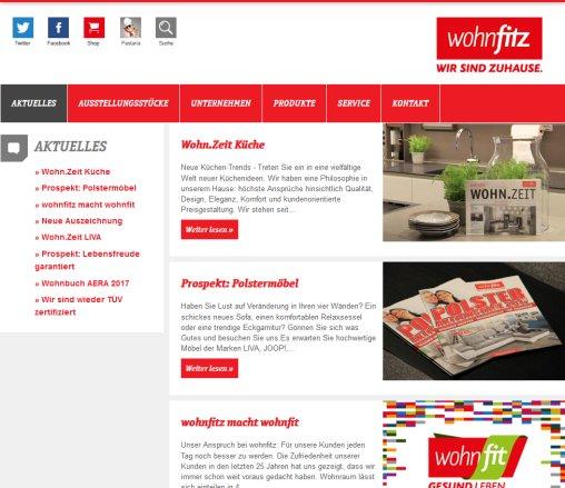 Wohnfitz Einrichtungshaus Kuchen Odenwald Walldurn