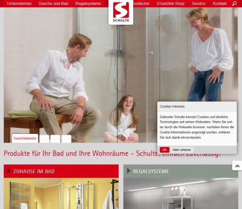 Gebrüder Schulte schulte duschkabinen duschbecken duschkabinen sundern