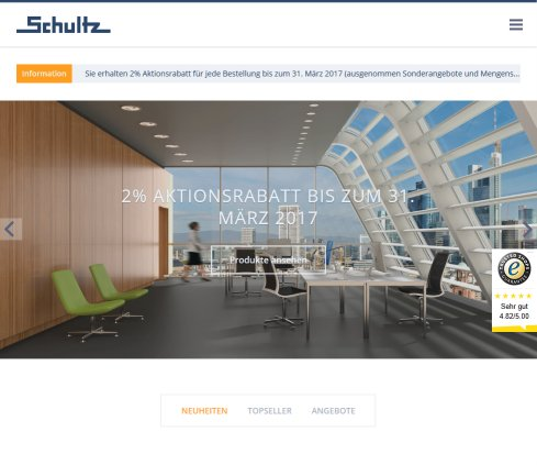 Schultz Büromöbel & Betriebseinrichtungen › Büromöbel Wiesbaden