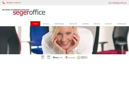 segeroffice Augsburg: Büromöbel und Objekteinrichtungen › Stuhl