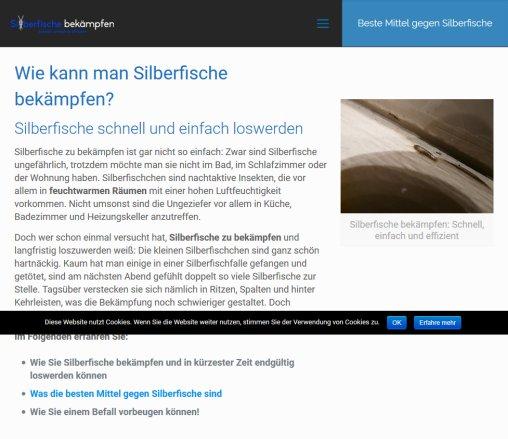 Silberfische Bekampfen Ratgeber Schadlingsbekampfung Munchen