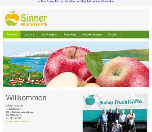 Sinner Fruchtsäfte › Sinner Bodman-Ludwigshafen