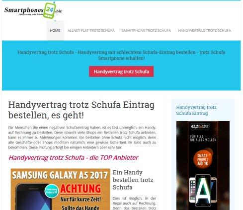 Smartphones24 Handyvertrag Hemmingen