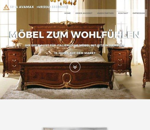 Italienisch Möbel :: SP AVAMAX › Hamburg Hamburg
