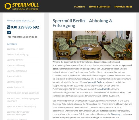 sperrm ll berlin sperrm ll berlin. Black Bedroom Furniture Sets. Home Design Ideas